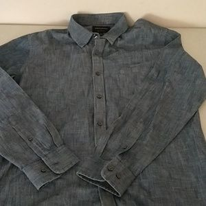 Banana Republic Shirts - Banana republic size L soft wash slim fit